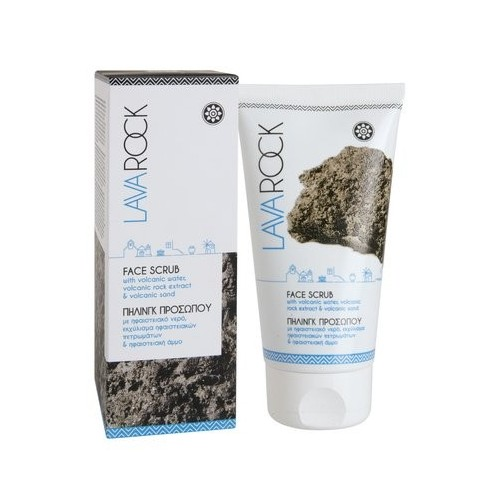 Face scrub with volcanic water extract, volcanic rocks and volcanic sand LAVAROCK