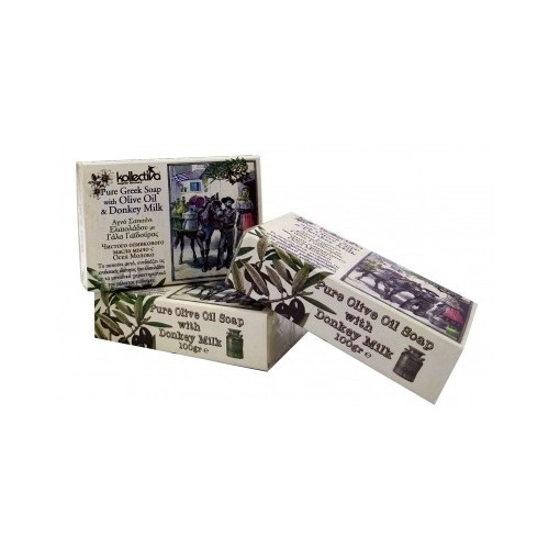 Kollectiva Soap with Donkey Milk and Olive Oil (100gr)