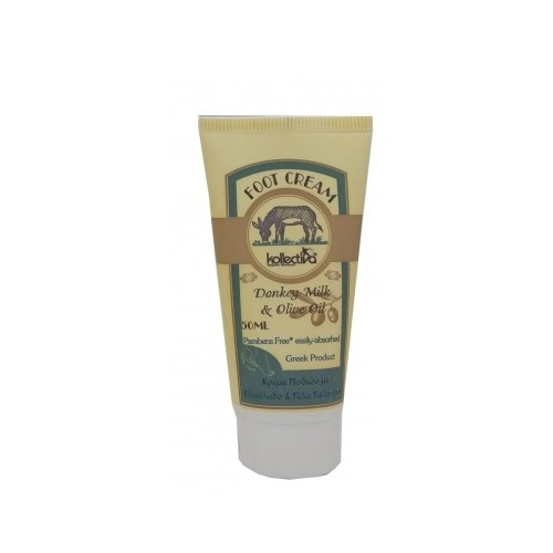 Foot cream with donkey Milk & Olive Oil Kollectiva (50ml)