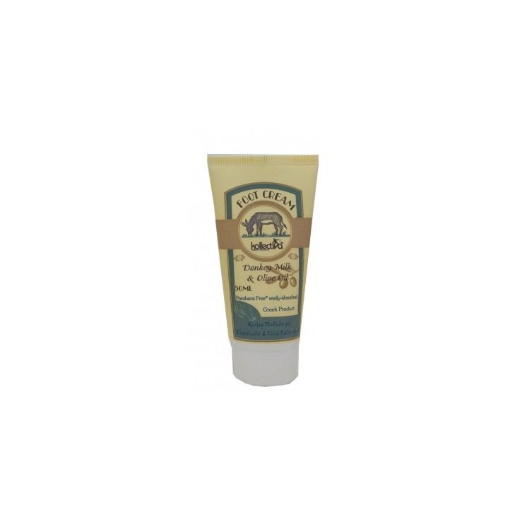 Foot cream with donkey Milk & Olive Oil (50ml)
