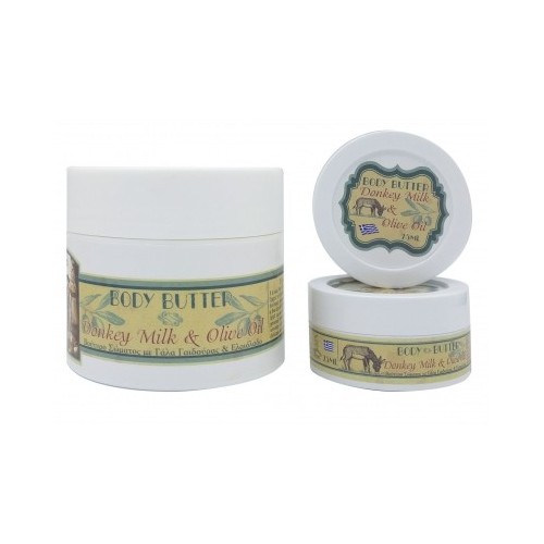 Body Butter with Donkey Milk Kollectiva Travel size (75ml)