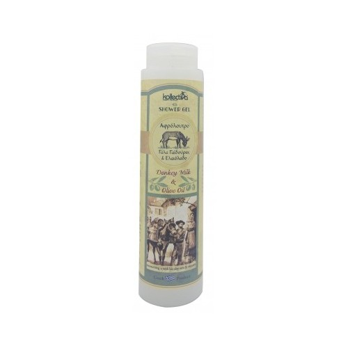 Shower Gel with Donkey Milk & Olive Oil Kollectiva (300ml)