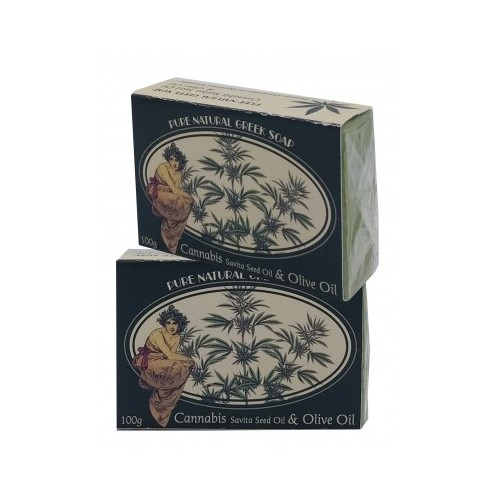 Soap with Cannabis Sativa Seed Oil Kollectiva(100g)