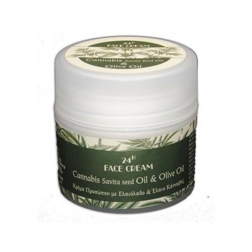 Face Cream with Cannabis Sativa (Hemp) Seed Oil Kollectiva (50ml)