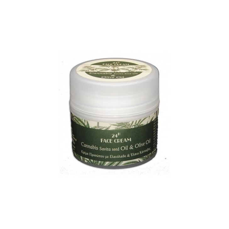 Face Cream with Cannabis Sativa (Hemp) Seed Oil Kollectiva (50ml)
