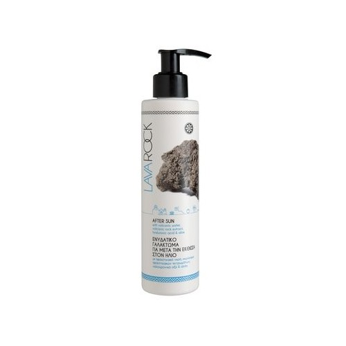 After Sun with Volcanic Water, Volcanic Rock Extract, Hyaluronic Acid, Panthenol and Aloe Lavarock(200ml)