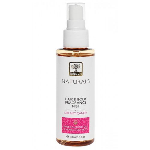 HAIR & BODY FRAGRANCE MIST DREAMY CANDY BIOSELECT NATURALS (100ml 3.3 fl.oz)