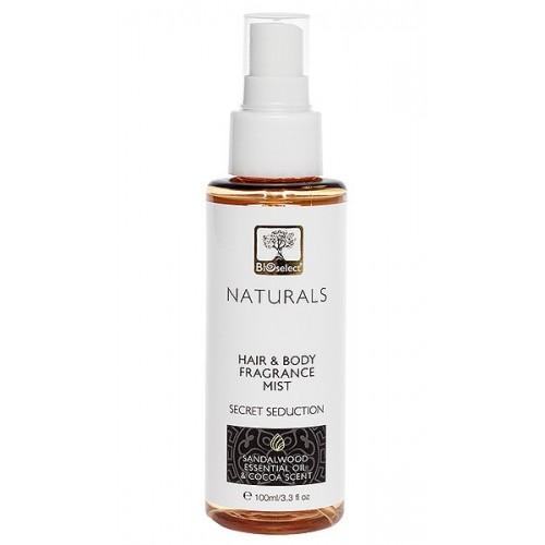 Hair & Body Mist Secret Seduction Bioselect Naturals 100ml 3.3fl.oz