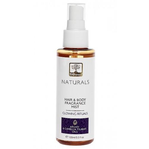 Hair & Body Mist Glowing Rituals Bioselect Naturals 100ml 3.3fl.oz