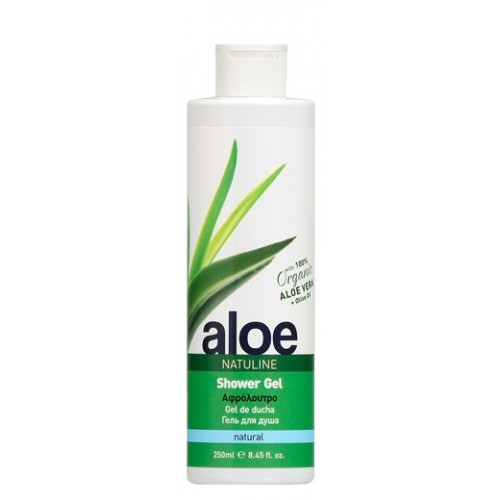 ALOE SHOWER GEL NATULINE 250ml e / 8.45 fl oz
