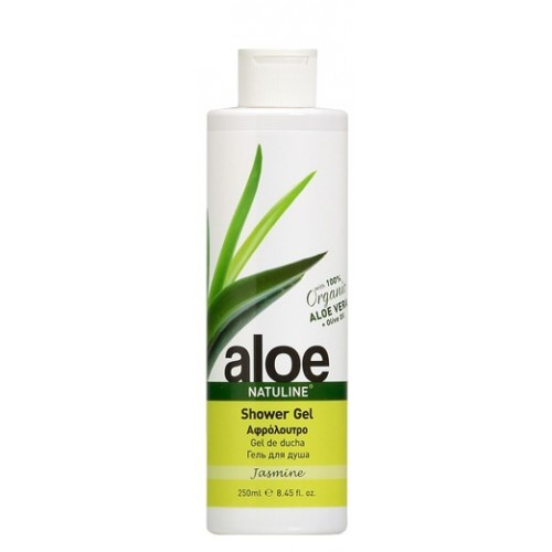 ALOE SHOWER GEL WITH JASMINE NATULINE 250ml e / 8.45 fl oz