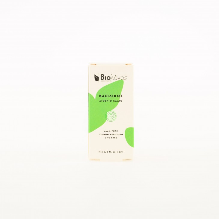 BASIL ESSENTIAL OIL BIOLOGOS (10ml)