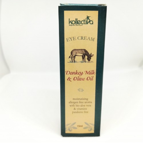 EYE CREAM DONKEY MILK & OLIVE OIL KOLLECTIVA (15ML)