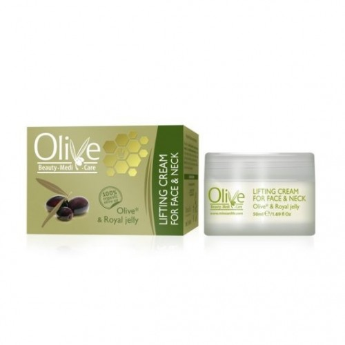 ROYAL JELLY AND OLIVE FACE & NECK LIFTING CREAM(50ml)