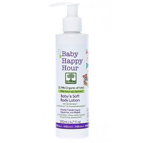 Baby Soft Body Lotion Bioselect Organic 200ml