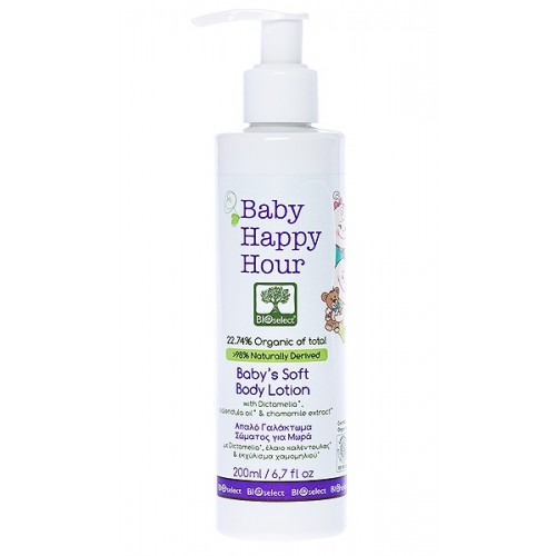 Baby Soft Body Lotion Bioselect (200ml)