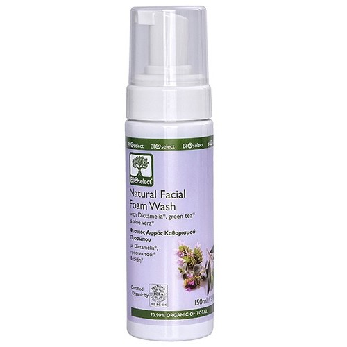 Natural Facial Foam Wash Bioselect (150ml)