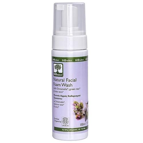 Natural Facial Foam Wash Bioselect Organic 150ml