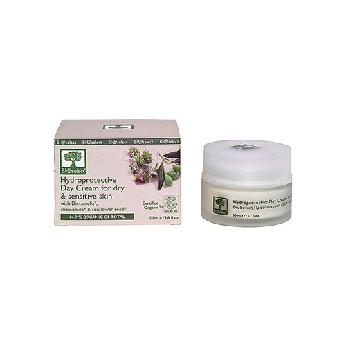 Hydroprotective Day Cream for Dry and Sensitive Skin Bioselect (50ml, 1.6 fl oz)