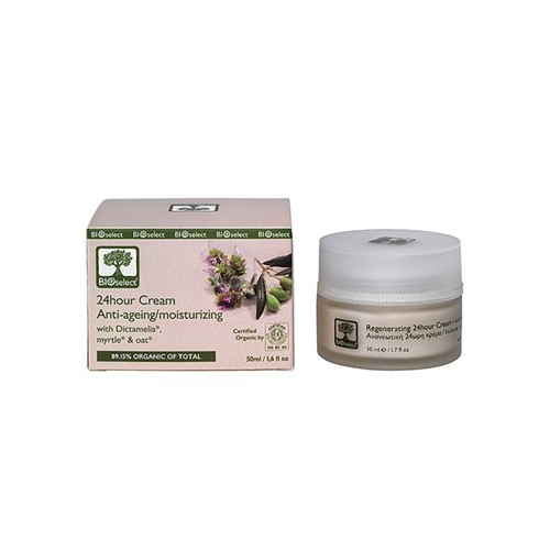 24 Hour Cream Anti Aging - Moisturizing Bioselect (50ml)