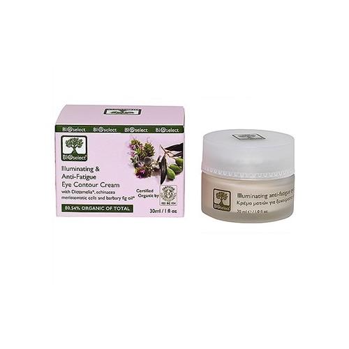 Illuminating, Anti Fatigue Eye Contour Cream Bioselect Organic 30ml