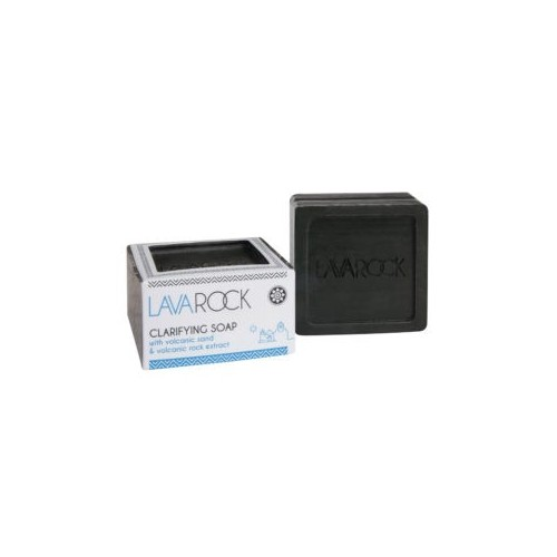 Clarifying Soap with Volcanic Sand and Volcanic Rock Extract Lavarock 125gr