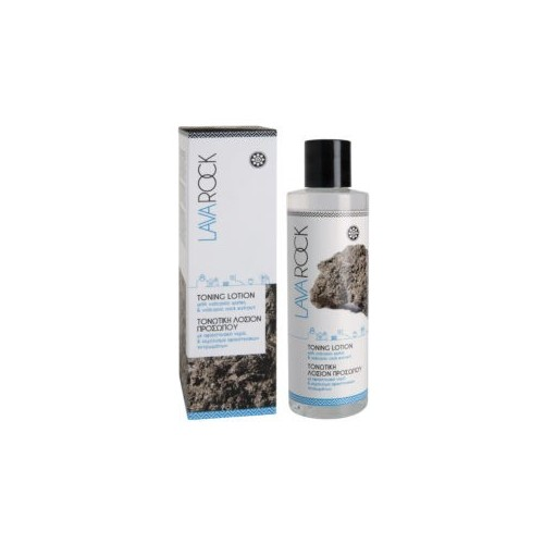 Toning Lotion with Volcanic Water and Volcanic Rock Extract Lavarock (200ml)