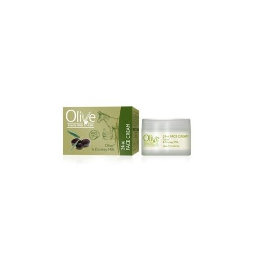 24 Hour Face Cream with Donkey Milk and Olive Oil Minoan Life (50ml 1.69fl oz)