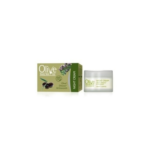 Night Cream with Olive, Dittany and Amaranth Minoan Life - Olive Beauty Medi Care 50ml