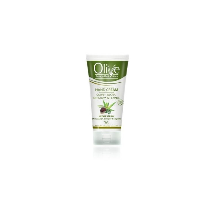 Hand Cream Olive , Aloe , Dittany & Fennel Minoan Life - Olive Beauty Medi Care 100ml