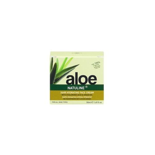 24 Hour Hydrating Face Cream Aloe- Natuline (50ml ,1.69 oz)