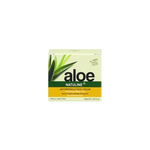 Antiwrinkle & Firming Face Cream With Hyaluronic Acid Aloe - Natuline (50ml 1.69 oz)