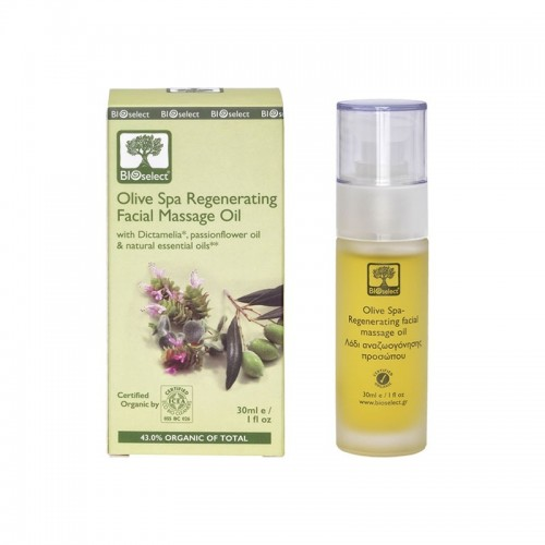 Bioselect Olive Spa Regenerating Facial Massage Oil Organics (30ml, 1 fl oz)