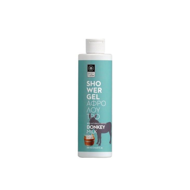 Shower Gel with Donkey Milk Bodyfarm (250ml, 8.45 fl.oz)