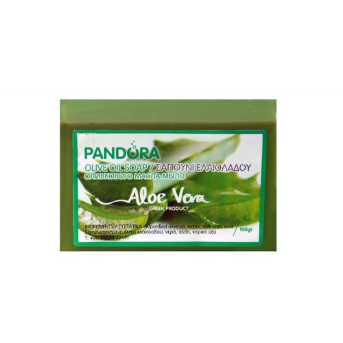 Olive Oil Soap - Aloe Vera Pandora (100gr, 3.5fl oz)