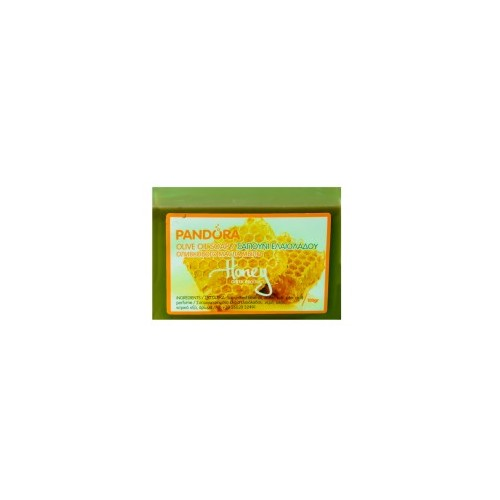 Olive Oil Soap - Honey Pandora (100gr, 3.5fl.oz)