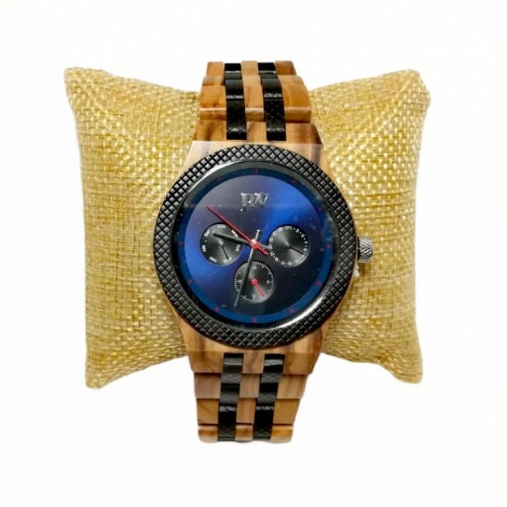 Olive Wood Wrist Watch Rizes Wood