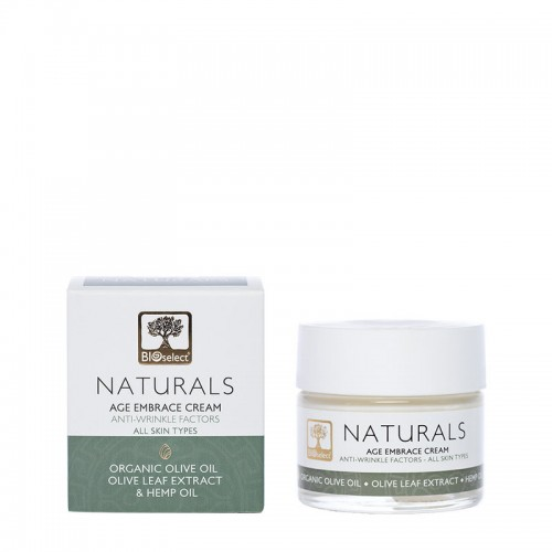 Age Embrace Cream for Face & Neck Bioselect Naturals (50ml)