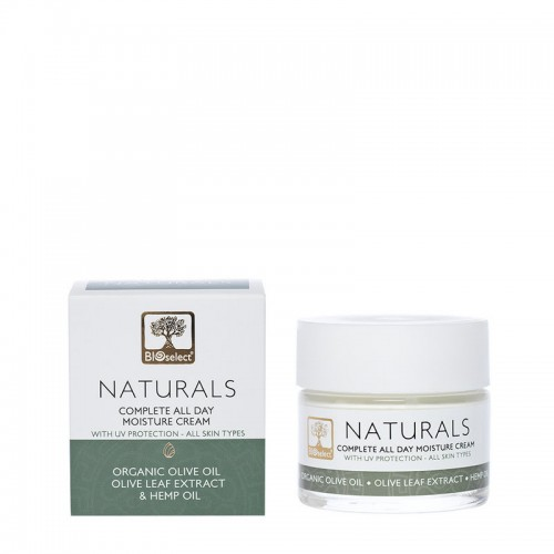 Complete All Day Moisture Cream with UV Protection Bioselect Naturals (50ml)