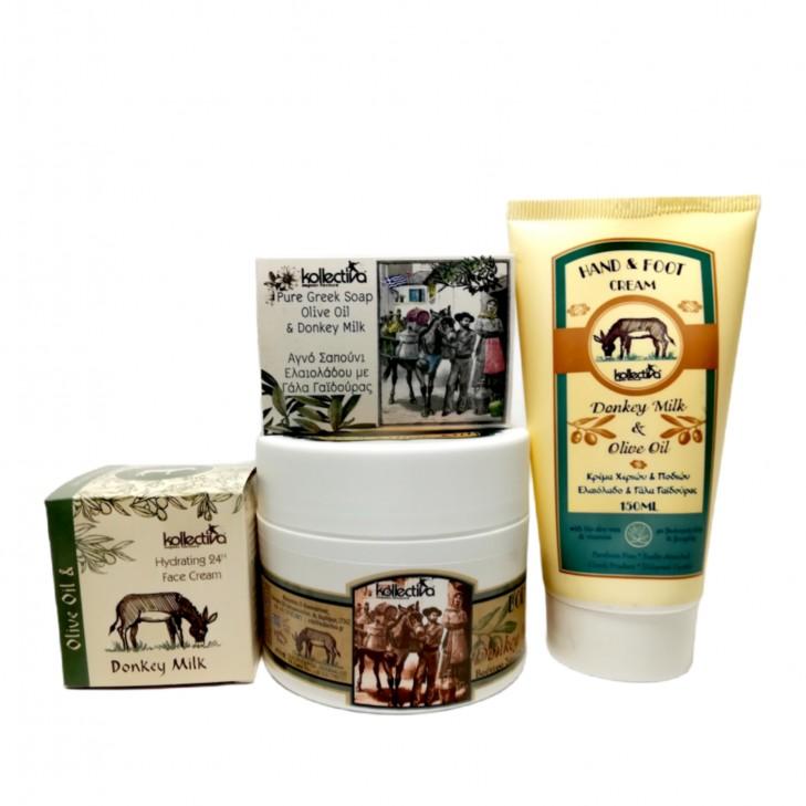 Kollectiva Donkey Milk Face & Body Set