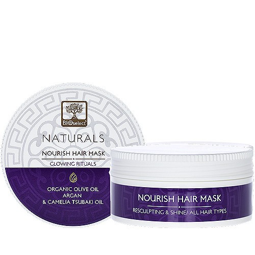 Nourish Hair Mask Glowing Rituals Bioselect Naturals (200ml)
