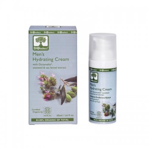 Mens Hydrating Cream Bioselect Organic 50ml