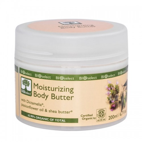 Moisturizing Body Butter Bioselect Organic 200ml