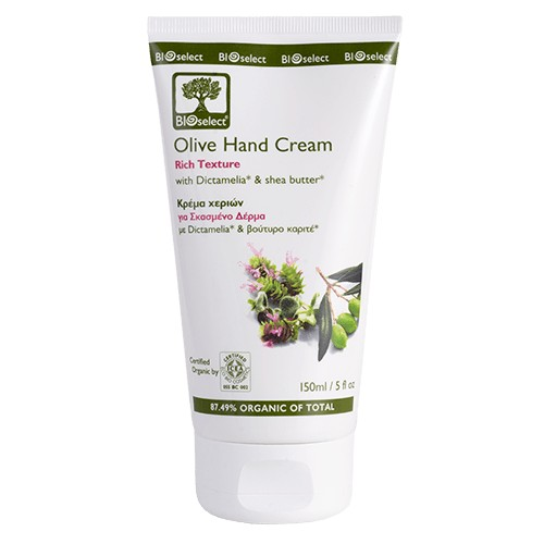 Olive Hand Cream - Rich Texture Bioselect Organic 150ml