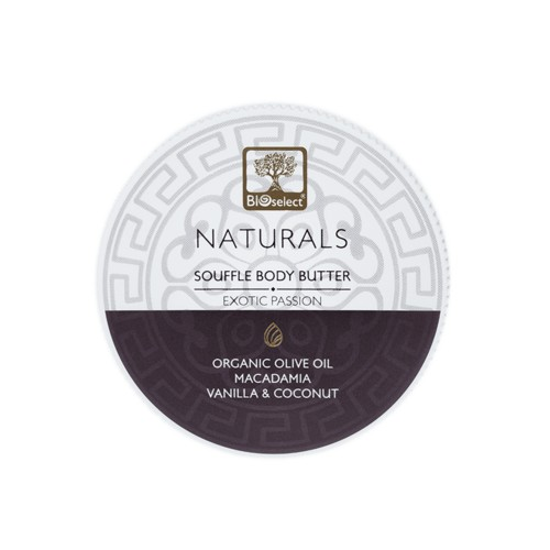 Souffle Body Butter -Hands, Feet and Body - Exotic Passion Bioselect Naturals 200ml