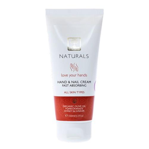 Hand and Nail Cream Bioselect Naturals 100ml