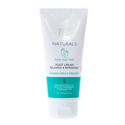 Foot Cream – Relaxing and Refreshing Bioselect Naturals 100ml