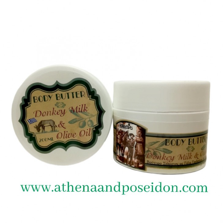 Kollectiva Body Butter with Donkey Milk and Olive Oil (200ml)