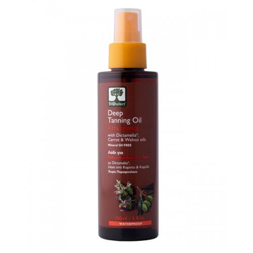 Deep Tanning Oil Extra Bronze Bioselect Organic 150ml