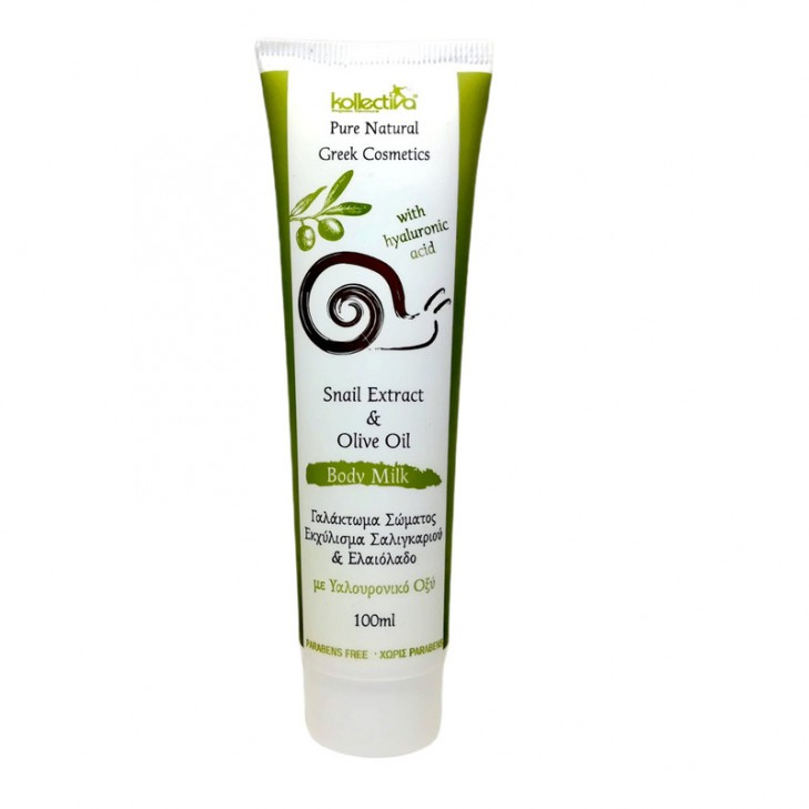 Kollectiva Body Milk with Snail Extract & Hyaluronic Acid 100ml